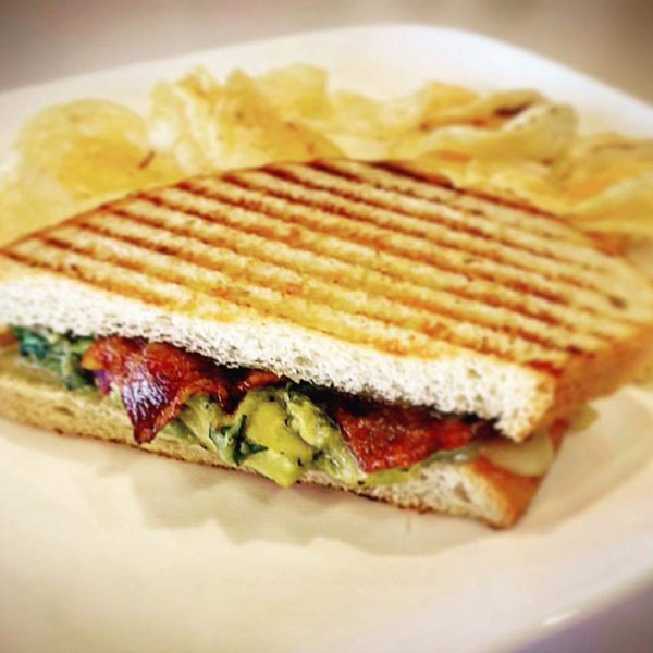 Turkey and Guacamole Panini